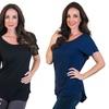 Agiato Women's Short-Sleeved Tunics (3-Pack)