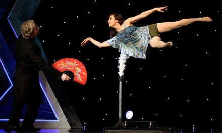 Masters of Illusion on Friday, October 23, at 7 p.m.