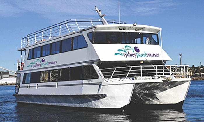 Sydney Pearl Cruises - Sydney Pearl Cruises: $39 Sydney Harbour Lunch or Dinner Cruise for One Person with Sydney Pearl Cruises (Up to $100 Value)
