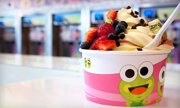 Sweet Frog - Rockcrest: $3 Toward Frozen Yogurt
