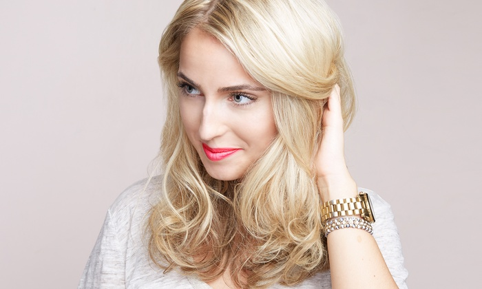 Leslie Gosselin Hair design - Heller Park: Haircut with Options for Partial or Full Highlights or Color at Leslie Gosselin Hair design (Up to 53% Off)
