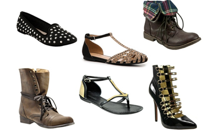 Bakers Shoes: $25 for $50 Worth of Fashionable Women's Footwear from Bakers Shoes