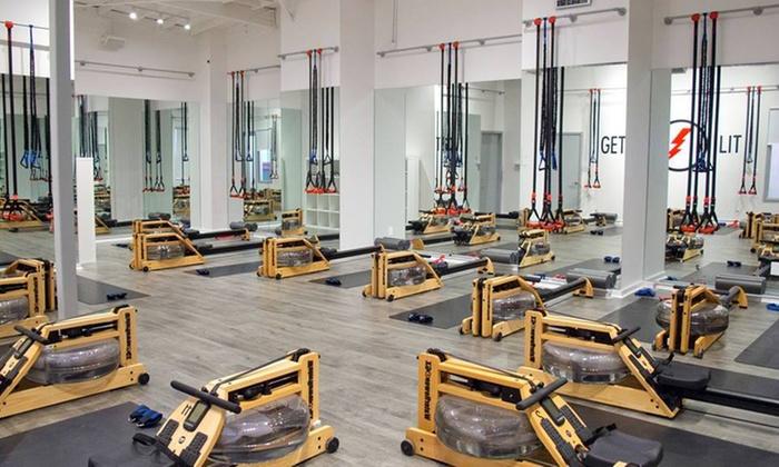 LIT  Method - Mid-City West: 10 Fitness Classes at LIT Method (50% Off)