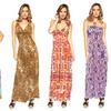Women's Printed Maxi Dresses
