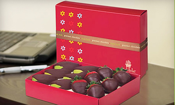 Edible Arrangements - Multiple Locations: $15 for a Box of Chocolate-Dipped Strawberries and Apple at Edible Arrangements ($29 Value). Four Locations Available.