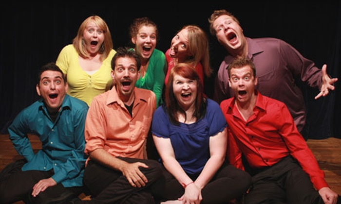 Unscripted Improv - Huntley: GreenRoom Productions' Unscripted Improv for Two or Four at the Cosman Theater in Huntley (Up to 52% Off)