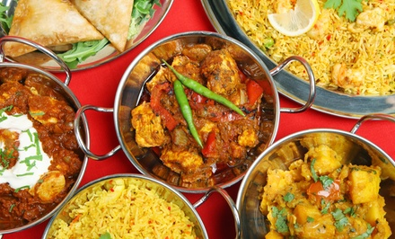 Indian Cuisine for Lunch or Dinner at Hilltop Indian Cuisine (Up to 48% Off). Three Options Available.