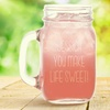 67% Off Personalized Glass Jar from Monogram Online