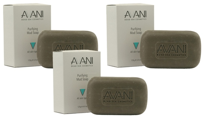 Avani Purifying Mud Soap (3-Pack)