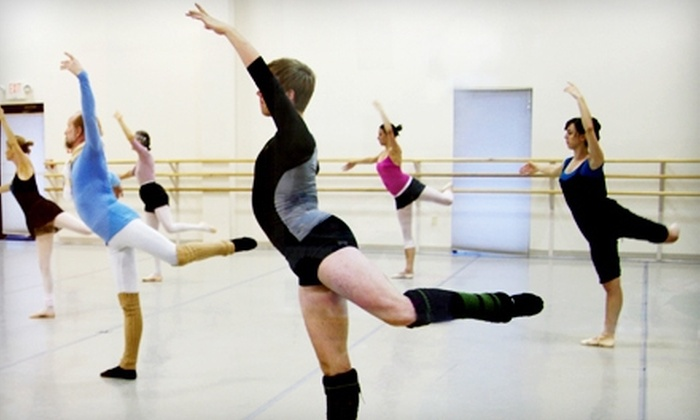 Cincinnati Ballet - Multiple Locations: 3, 5, or 10 Adult Ballet Classes at the Cincinnati Ballet (Up to 57% Off)