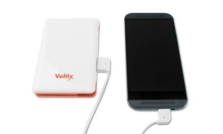 Voltix 12,000mAh Dual-USB Portable Power Bank
