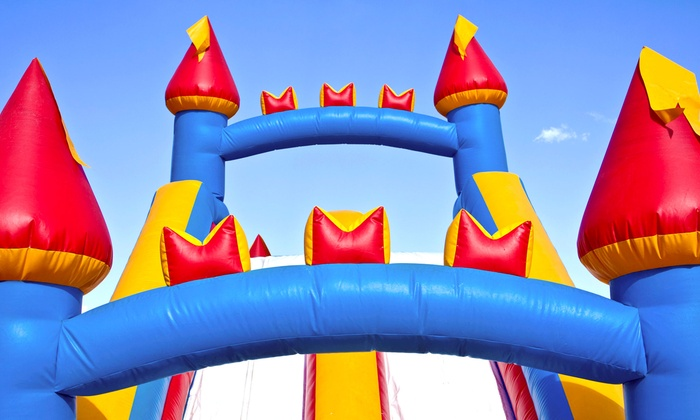 Supreme Bouncers - Columbia: 24-Hour Bounce-House Rental, or Weekday Water Bounce-House Rental from Supreme Bouncers (Up to 66% Off)