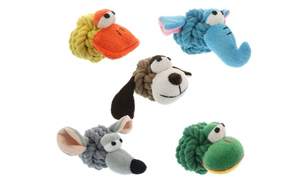 Rope Head Animals (3-Pack)