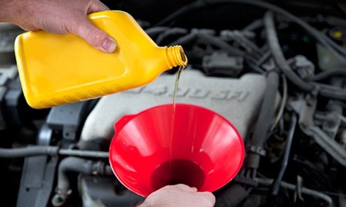 Tyler's Mobilube - Salt Lake City: $42 for Mobile Oil-Change Package with Tire Rotation or Two Onsite Oil Changes at Tyler's Mobilube ($84 Value)