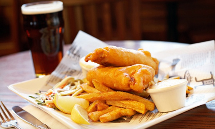 Thurston's Pub - Glasgow: Pub Food and Drinks at Thurston's Pub (Up to 56% Off). Two Options Available.