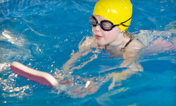 PlanetSwim - Multiple Locations: Four Weekly 30-Minute Group or Private Swim Lessons at PlanetSwim (Up to 55% Off)
