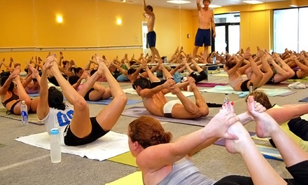 One Month of Unlimited Classes at Bikram Yoga Savannah (Up to 86% Off). Three Options Available.