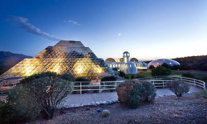 Biosphere 2 - University of Arizona Biosphere 2: Visit for Two, Four, or Eight at Biosphere 2 (Up to 50% Off)
