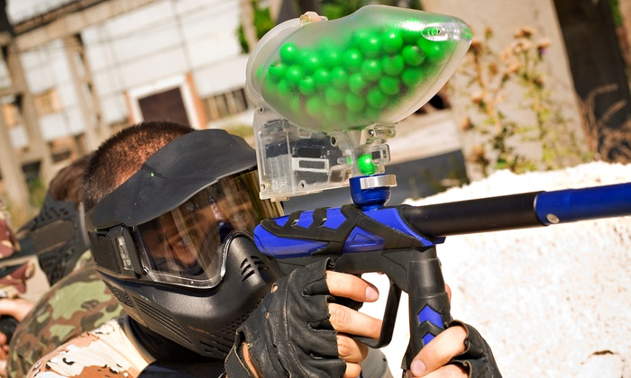 Paintball Park - Lakeland: Paintball Package with Equipment and 500 Paintballs Per Person for One, Two, or Four (Up to 52% Off)