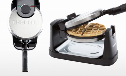Chefman Rotating Belgian-Waffle Maker