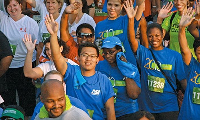 Kaiser Permanente Corporate Run/Walk & Fitness Program - Summerhill: $37 for 5K Run/Walk with Training and Boxed Deli Dinners for Two from Kaiser Permanente Corporate Run/Walk ($74 Value)