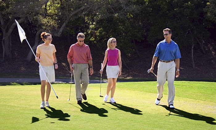 Mt. Freedom Golf - Randolph: 9- or 18-Hole Round of Golf for Two or Four with Lunch at Mt. Freedom Golf (Up to 62% Off)
