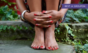 Sola Salon Studios - Fairlawn: One or Three Pedicures at Sola Salon Studios - Fairlawn (Up to 50% Off)