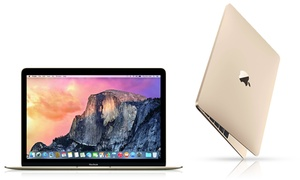 """Apple Macbook Gold 12"""" Laptop With 1.1ghz Processor, 8gb Ram, And 256gb Ssd"""