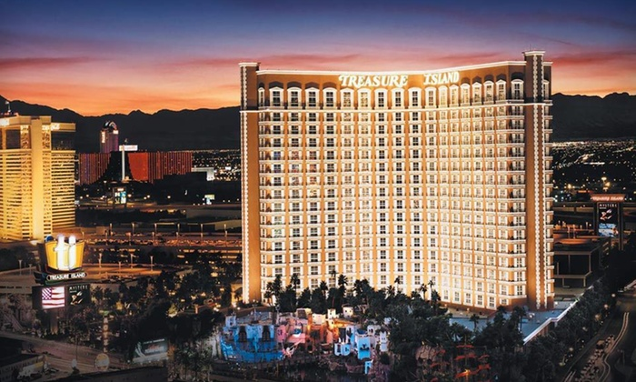 Treasure Island Hotel & Casino - Las Vegas, NV: Two-Night Stay with Show Tickets or Optional Wedding Package at Treasure Island Hotel & Casino in Las Vegas