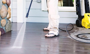 Deckhand Pressure Washing: Sidewalk or Concrete Pressure Washing from Deckhand Pressure Washing (60% Off)