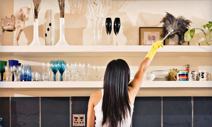 Water2Wine Cleaning - Santa Rosa: Two or Four Man-Hours of Housecleaning from Water2Wine Cleaning (Up to 51% Off)