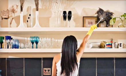 Two or Four Man-Hours of Housecleaning from Water2Wine Cleaning (Up to 51% Off)