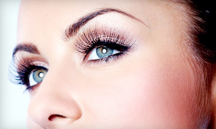Dona's Hair Salon - Fells Point: Full Set of Semi-Permanent Eyelash Extensions with Optional Two-Week Touchup at Dona's Hair Salon (Up to 68% Off)