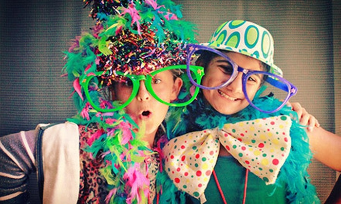 iTEGPhotoBooths - Los Angeles: Three- or Four-Hour Photo-Booth Rental from iTEGPhotoBooths (Up to 54% Off)