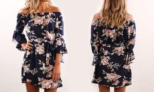 Robe Anita, motif floral