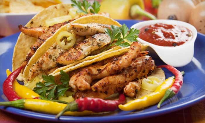 Cinco de Mayo Amigos Cantina - Multiple Locations: Mexican Dinner at Cinco de Mayo Amigos Cantina (Up to 55% Off). Three Options Available.