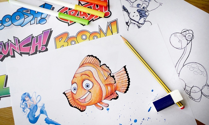 Dynamic E-Course: $29 for a Learn-to-Draw for Kids and Adults Online Course from Dynamic E-Course ($1,106 Value)