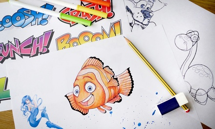 $29 for a Learn-to-Draw for Kids and Adults Online Course from Dynamic E-Course ($1,106 Value)