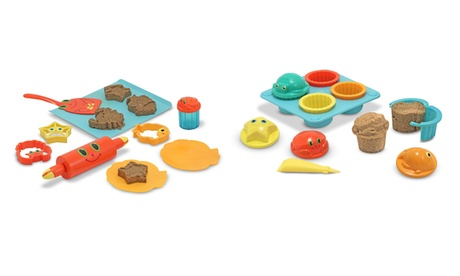 Melissa and Doug Seaside Sidekicks Sand Set (11- or 12-Piece) 074c4124-359c-11e7-96b5-00259069d7cc
