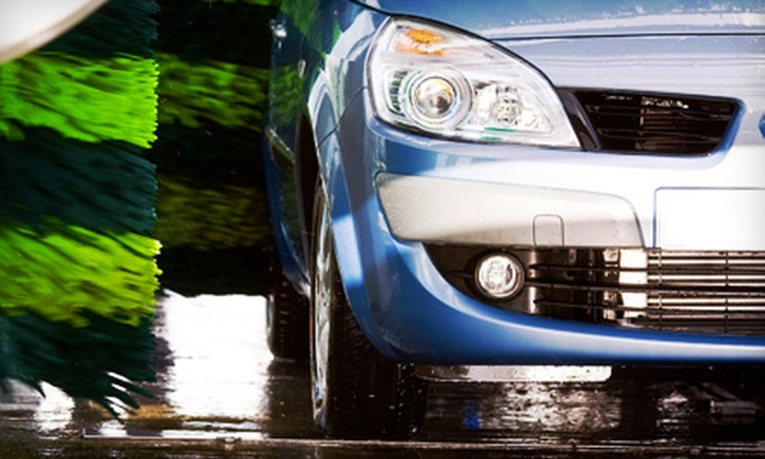 Speedy Green Car Wash - Manassas Park: $19 for Three Three-Stage Exterior Car Washes with Tire Shines at Speedy Green Car Wash in Manassas Park ($39 Value)