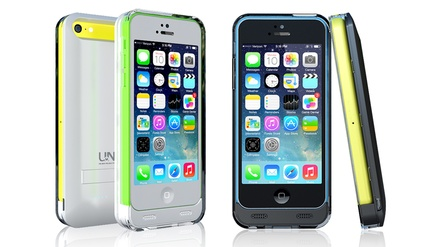 uNu Reveal Battery Case for iPhone 5C/5S/5