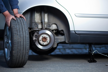 Oil Change Package with Tire Rotation and 30-Point Safety Inspection at Paul's Garage (50% Off)