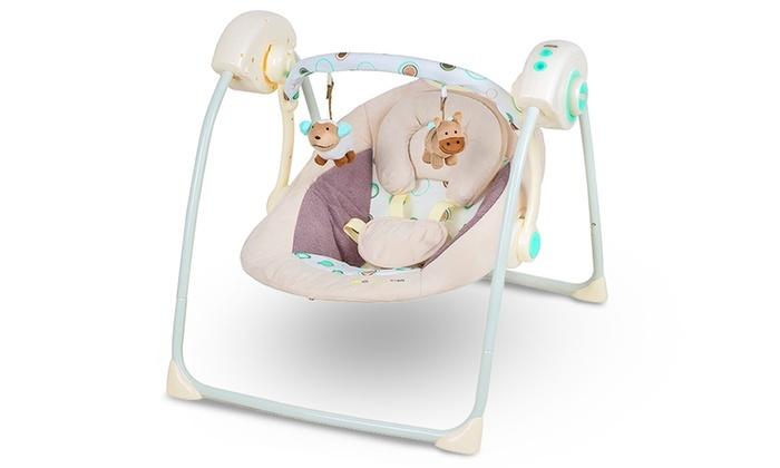 Baby Schommelstoel Aanbieding.Kinderkraft Easy Swing Schommel Groupon Goods