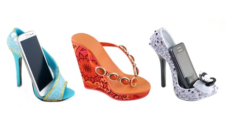 Jacki Design Handbag- or Shoe-Shaped Cell Phone Holders