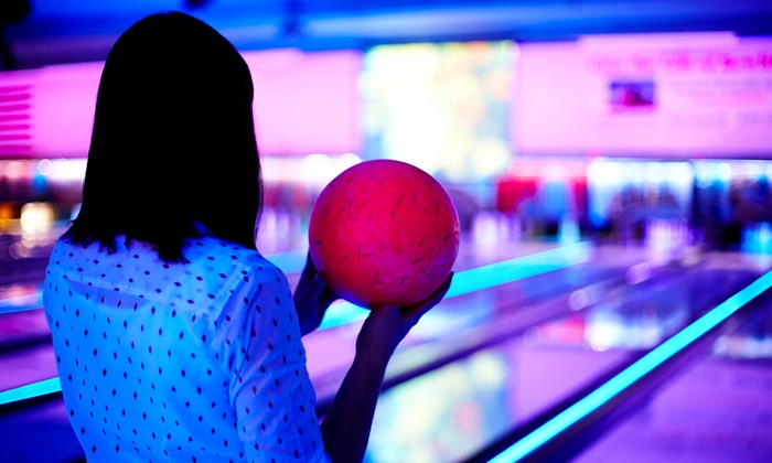 Oasis Lanes - Union: Cosmic Bowling for Two, or Two Hours of Bowling for 6 or 12 with Pizza and Soda at Oasis Lanes (Up to 51% Off)