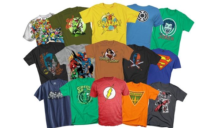 8814ca87f Men's DC Comics T-Shirts | Groupon Goods