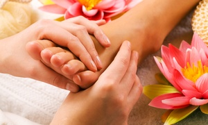 Healthy Foot Spa: Reflexology Massage with Foot Soak and Optional Massages at Healthy Foot Spa (Up to 63% Off)