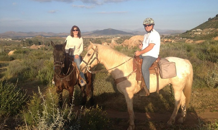 Susie Q Ranch - Murrieta: $52 for $122 Worth of Horseback Riding — Susie Q Ranch