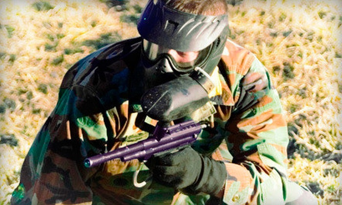 Austin Paintball - Dripping Springs-Wimberley: Paintball Package for Two, Four, or Six at Austin Paintball (Up to 55% Off)
