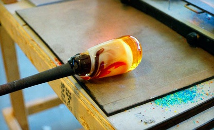 $125 for a Half-Day Introductory Glass-Blowing Class at Aurora Borealis Glassworks ($250 Value)